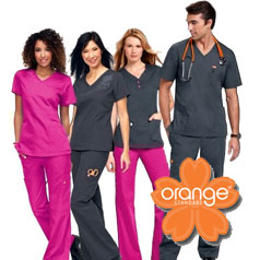 Orange Standard Scrubs