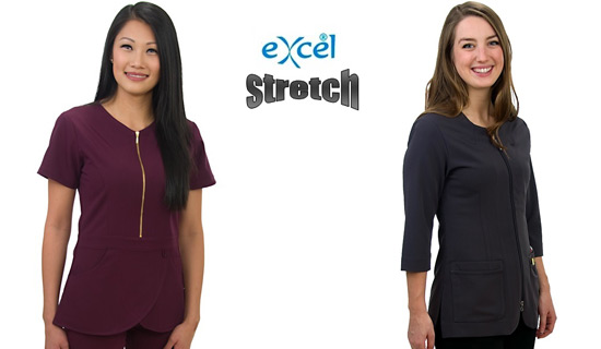 Excel Scrubs, Stretch Scrubs